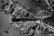 Aerial photograph of St. Nazaire