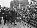 Staatsbezoek Franse president Coty aan Nederland. Derde dag. Rotterdam. Coty gro, Bestanddeelnr 906-6161.jpg