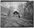 Stable, south elevation - Trump-Lilly Farm, Hinton, Summers County, WV HABS WVA,45-HINT.V,1-31.tif
