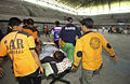 Stadium hospital. Earthquake Yogyakarta. Indonesia May 2006. Photo- AusAID (10725095023).jpg