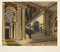 Stair Case, Buckingham House - The History of the Royal Residences (1819), opposite 7 - BL.jpg