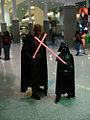 Star Wars Celebration IV - Darth Maul and little Darth Vader (4878271029).jpg