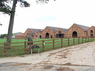 Statfold village in United Kingdom