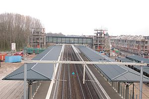 Helmond Brandevoort railway station - Image: Station brandevoort