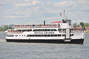 Hornblower Cruises - Statue Cruises - Lady Liberty