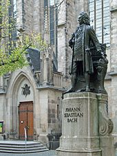 Statue of Bach, Leipzig