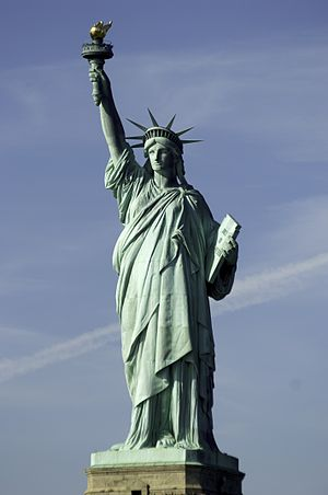 Liberty (goddess) - Statue of Liberty (Liberty Enlightening the World), New York, USA
