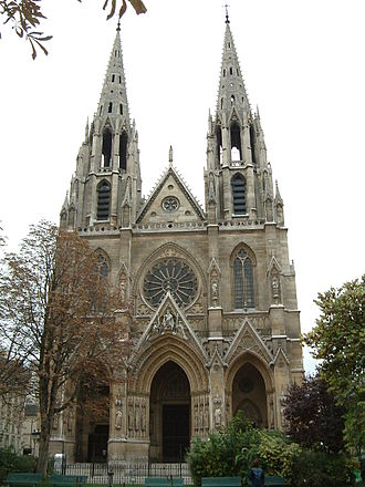 Sacred Heart Cathedral (Guangzhou) - St Clotilde, Paris
