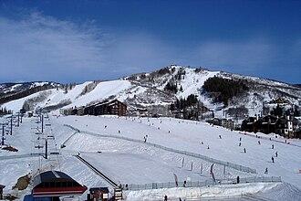 Steamboat Springs, Colorado - The ski resort at Steamboat Springs