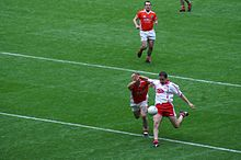 Stephen O'Neill - All-Ireland Semi-final 2005.jpg