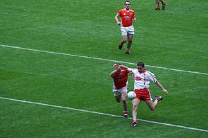 Stephen O'Neill - Image: Stephen O'Neill All Ireland Semi final 2005
