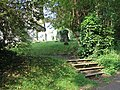 Steps and churchyard - geograph.org.uk - 183137.jpg