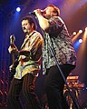 Steve Lukather with Bobby Kimball 02.jpg