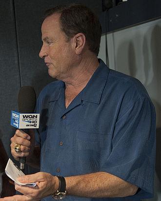 Steve Stone (baseball) - Stone in 2010