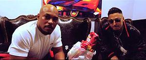 Onyx (hip hop group) - Sticky Fingaz with Italian rapper Duke Montana