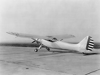 Stinson L-1 Vigilant - O-49 Vigilant at Patterson Field during World War II
