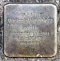 Stolperstein Barbarossastr 41 (Schön) Wolff Bamberger.jpg