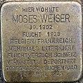 Stolperstein Moses Weiser vor Dotzheimer Str. 35 (Wiesbaden).jpg