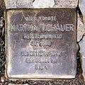 Stolperstein Nachodstr 18 (Wilmd) Martha Tichauer.jpg