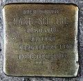 Stolperstein Waldemarstr 42 (Kreuz) Marie Scheibe.jpg