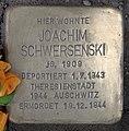 Stolperstein Westfälische Str 62 (Halsee) Joachim Schwersenski.jpg
