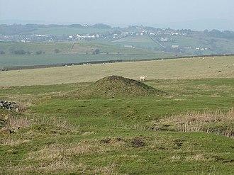 Worsthorne - Stone circle near Worsthorne