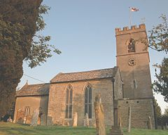 Stonesfield StJames NorthSide sunset.JPG