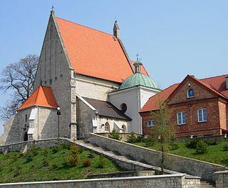 Stopnica Town in Świętokrzyskie, Poland