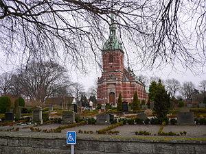 Magnus Steendorff - Stora Hammars Church, erected 1891-1895