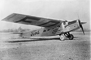 "Stout Metal Airplane - Stout 2-AT Pullman ""Maiden Dearborn"""