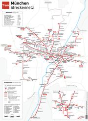 Straßenbahnnetzplan München