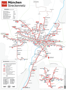 Trams In Munich Wikipedia - Bus map munich
