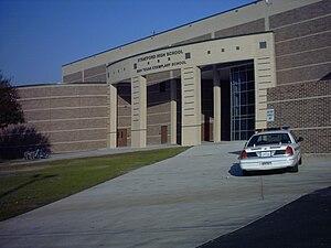 Stratford High School (Houston) - Image: Stratford Houston School Outside