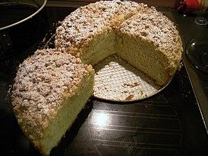 Kuchen - Streuselkuchen