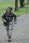 Strike amputee soldier nears 12-mile finish line 130429-A-PY395-001.jpg