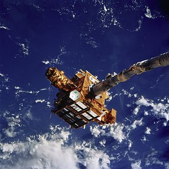 STS-87 - Deployment of SPARTAN