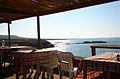 Stunde des Pan im Restaurant 'Oasis' - nähe Dipkarpaz (Nord Cypern) 2003.jpg