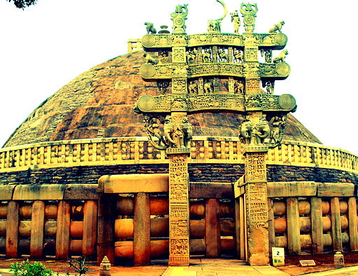 Stupa of sanchi, no.-3