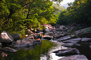 Khánh Hòa Province - Ba Hồ stream in Khánh Hòa province