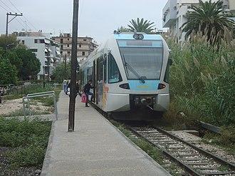 Proastiakos - Suburban rail in Patras