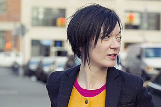 Criticism of Wikipedia - Image: Sue Gardner Feb 2013 portrait crop 2