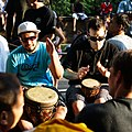 Sunday Drum Circle (4677440826).jpg