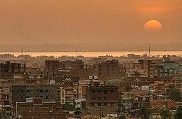 Khartum – Veduta