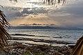 Sunset between palm trees, Ayia Marina Chrysochous, Paphos District, Cyprus 02.jpg