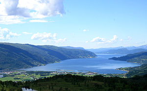 Surnadal - View of the Surnadalsfjorden