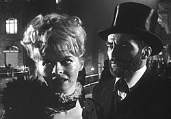 Susannah York-Montgomery Clift in Freud (1962) trailer.jpg