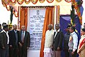 Sushil Kumar Shinde and the Speaker, Lok Sabha, Shri Somnath Chatterjee at the Laying Foundation Stone Ceremony of 1000 MW Durgapur Steel Thermal Project under DVC at Andal (Durgapur), District Bardhaman.jpg