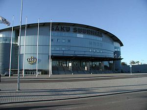 Eurovision Song Contest 2002 - Saku Suurhall, Tallinn - host venue of the 2002 contest.