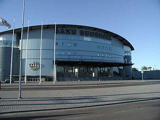 BC Kalev - Saku Suurhall is the home arena of Kalev/Cramo since 2004.