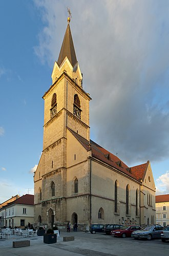 Kranj - St. Cantianus' Church